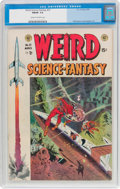 Golden Age (1938-1955):Science Fiction, Weird Science-Fantasy #23 (EC, 1954) CGC FN/VF 7.0 Cream tooff-white pages....