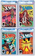 Modern Age (1980-Present):Superhero, X-Men Group of 4 (Marvel, 1984-85) Condition: CGC NM/MT 9.8....(Total: 4 Comic Books)