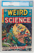 Golden Age (1938-1955):Science Fiction, Weird Science #9 (EC, 1951) CGC FN 6.0 Off-white pages....