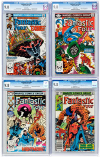 Fantastic Four Group of 9 (Marvel, 1982-84) Condition: CGC NM/MT 9.8.... (Total: 9 Comic Books)