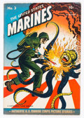 Golden Age (1938-1955):War, United States Marines #3 (Magazine Enterprises, 1944) Condition:VG+....