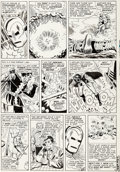 Original Comic Art:Panel Pages, Don Heck and Mike Esposito (as Mickey Demeo) Tales ofSuspense #67 Story Page 12 Iron Man Original Art (Marvel, 19...