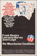 "Movie Posters:Thriller, The Manchurian Candidate (United Artists, 1962). One Sheet (27"" X41""). Thriller.. ..."