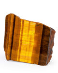 Lapidary Art:Carvings, Tiger's Eye. South Africa. 3.55 x 3.39 x 1.02 inches (9.01 x8.60 x 2.60 cm). ...