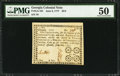 Colonial Notes:Georgia, Georgia June 8, 1777 $3/4 PMG About Uncirculated 50.. ...