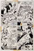 Original Comic Art:Panel Pages, George Tuska, Vince Colletta, and Bill Everett Iron Man #54 Page 14 Original Art (Marvel, 1973)....