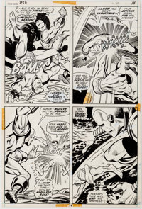 George Tuska, Vince Colletta, and Bill Everett Iron Man #54 Page 14 Original Art (Marvel, 1973)