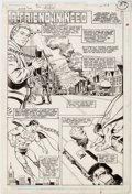 "Original Comic Art:Panel Pages, Curt Swan and Murphy Anderson Action Comics #600 ""A FriendIn Need"" Story Page 1 Original Art (DC, 1988)...."