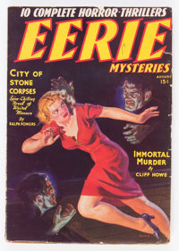 Eerie Mysteries V1#1 (Magazine Publishers Inc., 1938) Condition: FN