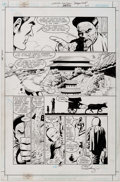 Original Comic Art:Panel Pages, Paul Gulacy Green Lantern: Dragon Lord #1 Page 26 OriginalArt (DC, 2001)....