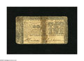 Colonial Notes:Maryland, Maryland March 1, 1770 $2 Fine. This otherwise Fine note is splitin half. It has a vintage repair plus an approximate h...