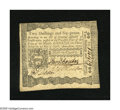 Colonial Notes:Pennsylvania, Pennsylvania April 3, 1772 2s/6d Extremely Fine-About New. Darksignatures inhabit this note with two center folds....