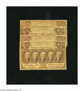Fractional Currency:First Issue, Fr. 1281 25c First Issue. Four Examples. Very Good. One note is noticed with a small edge tear.. ... (Total: 4 notes)