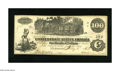 Confederate Notes:1862 Issues, T39 $100 1862. A corner fold and an edge nick are found on thisAbout Uncirculated $100....