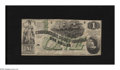 Confederate Notes:1862 Issues, T45 $1 1862. Sound edges and crispy paper highlight this attractive note for the grade. A couple of pinholes are noticed on ...