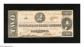 "Confederate Notes:1862 Issues, T54 $2 1862. Periods are found after both plate letters on thisnote that has Criswell number ""392"" pencilled on its back. T..."