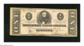 Confederate Notes:1863 Issues, T62 $1 1863. The left plate letter has a period after it. Uniformwear is found on this Ace that also has a corner tip nick....