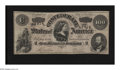 Confederate Notes:1864 Issues, T65 $100 1864. This Fine C-note is free of pinholes, while some soiling is noticed on the back....