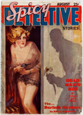 Pulps:Detective, Spicy Detective Stories - August 1934 (Culture) Condition: GD....