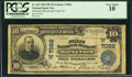 National Bank Notes:Colorado, Rocky Ford, CO - $10 1902 Plain Back Fr. 624 The First NB Ch. #(W)7082. ...