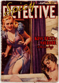Pulps:Detective, Spicy Detective Stories - August 1939 (Culture) Condition: GD....