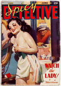Spicy Detective Stories - June 1938 (Culture) Condition: VG