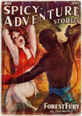 Pulps:Adventure, Spicy Adventure Stories - July 1936 (Culture) Condition: GD-....