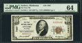 National Bank Notes:Oklahoma, Antlers, OK - $10 1929 Ty. 1 The First NB Ch. # 7667. ...