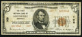 National Bank Notes:Kentucky, Louisville, KY - $5 1929 Ty. 2 The First NB Ch. # 109. ...