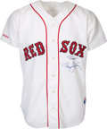 Baseball Collectibles:Uniforms, 1988 Roger Clemens Game Worn Boston Red Sox Jersey. ...