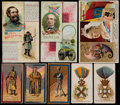 Non-Sport Cards:Lots, 1888-1890 N30, N126, N133, N303 Military/Rulers Theme CardCollection (61). ...