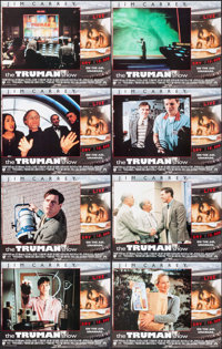 "The Truman Show & Other Lot (Paramount, 1998). International Lobby Card Sets of 8 (2 Sets) (11"" X 14"")..."