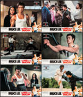 "Movie Posters:Action, The Way of the Dragon (Cathay Films, 1974). Hong Kong Lobby Cards (6) (11"" X 14""). Action.. ... (Total: 6 Items)"