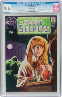 House of Secrets #92 (DC, 1971) CGC NM+ 9.6 Off-white pages