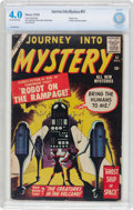 Silver Age (1956-1969):Mystery, Journey Into Mystery #51 (Marvel, 1959) CBCS VG 4.0 Cream tooff-white pages....