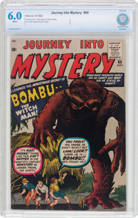 Journey Into Mystery #60 (Marvel, 1960) CBCS FN 6.0 White pages