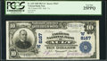National Bank Notes:Colorado, Ault, CO - $10 1902 Plain Back Fr. 625 The Farmers NB Ch. #(W)8167. ...