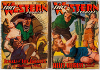 Spicy Western Stories Group of 2 (Culture, 1941) Condition: Average GD.... (Total: 2 Items)