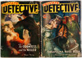Pulps:Detective, Private Detective Stories Group (Trojan Publishing, 1942-44)Condition: Average VG.... (Total: 2 Items)