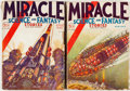 Pulps:Science Fiction, Miracle Science and Fantasy Stories #1 and 2 Group (Good StoryMagazine Company, 1931) Condition: Average GD.... (Total: 2 Items)