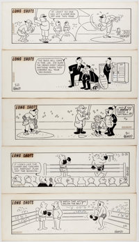 Fred Thomas Long Shots Daily Comic Strip Original Art Group of 16 (Hall Syndicate Inc., c. 1960s).... (Total: 16 Origina...