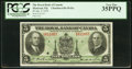 Canadian Currency: , Canada Montreal, PQ- Royal Bank of Canada $5 Jan. 2, 1935 Ch. #630-18-02a.. ...