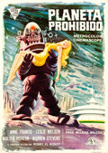 "Movie Posters:Science Fiction, Forbidden Planet (Cire, 1966). First Release Spanish One Sheet(27.75"" X 39"").. ..."