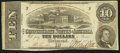 Confederate Notes:1863 Issues, T59 $10 1863 PF-41.. ...
