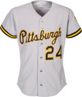 Baseball Collectibles:Uniforms, 1992 Barry Bonds Game Worn Pittsburgh Pirates Jersey. ...