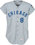 Baseball Collectibles:Uniforms, 1971 Joe Pepitone Game Worn Chicago Cubs Jersey. ...