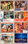 "Movie Posters:Elvis Presley, Roustabout & Others Lot (Paramount, 1964). Lobby Cards (36)(11"" X 14""), One Sheets (23) (27"" x 41""), Photos (9) & BoardBac... (Total: 78 Items)"