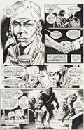 Original Comic Art:Panel Pages, Dave Gibbons Martha Washington Goes To War #1 Story Page 11Original Art (Dark Horse, 1994)....