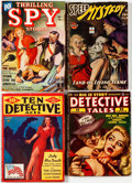 Pulps:Detective, Assorted Spy and Detective Pulps Group of 4 (Various, 1942-49)Condition: Average FN-.... (Total: 4 Comic Books)