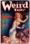 Pulps:Horror, Weird Tales - October 1937 (Popular Fiction) Condition: VG+....
